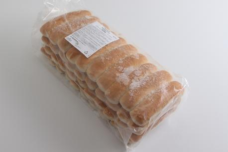 Pølsebrød, sammenbagt (160 stk)