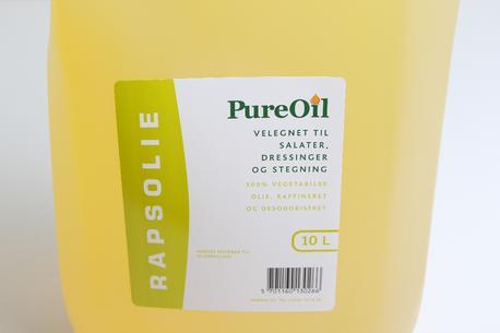 Plante/rapsolie, 10 liter