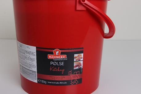 Ketchup, pølse, 10 kg spand, Bähncke