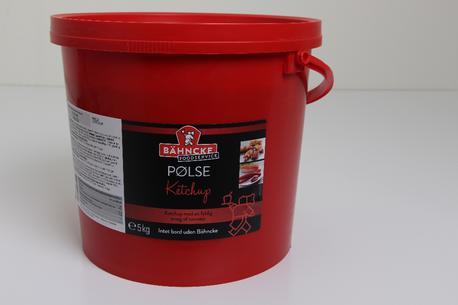 Ketchup, pølse, 5 kg. spand,(bestillings