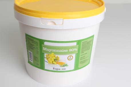 Mayonnaise, 80%, spand, Rapsona