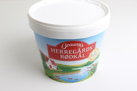 Rødkål, Beauvais, 5 kg. spand