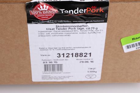 TP Skinkemignonbøffer, ca. 70 gram