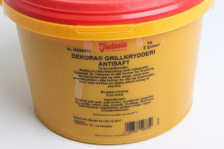 Grillkrydderi med antisaft, India, 3 kg