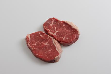 Oksesteak, u/kæde, NZ/AU, 2 stk./pakke