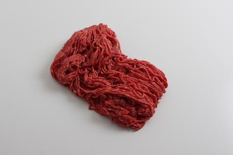 Hakket oksekød, max 3-7%