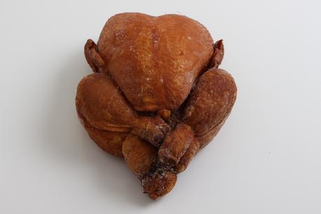 Røget kylling, hel