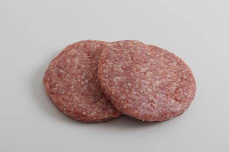 Burgerbøffer, af kalv, 180 gram, vak.