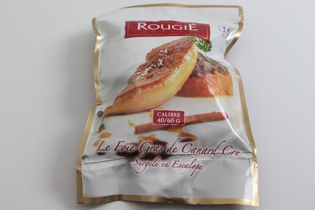 Foie gras, i skiver