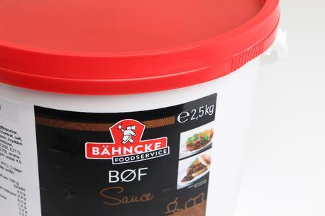 Bøf sauce, m/løg, 2,5 kg
