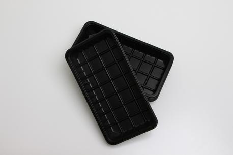 Plastbakker, sorte, 1.000 g., 2273