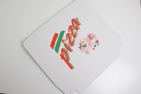 60x60x5, pizzaæske