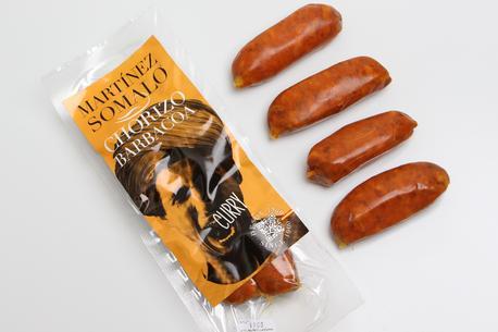 Chorizo, curry, 200 gram