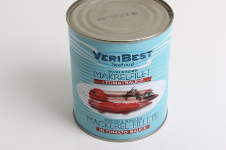 Makrel i tomat, Veribest, 850 gram