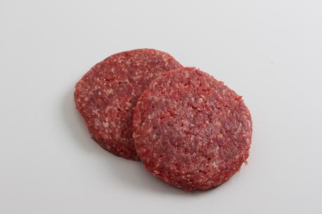 Burgerbøffer, m/kartoffel, fersk, E2-ks.